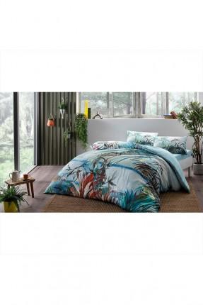 طقم غطاء سرير مزدوج مزخرف عصافير