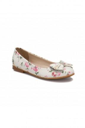 حذاء اطفال بناتي مزين بالورد