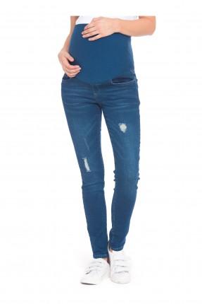 بنطال حمل جينز ممزق