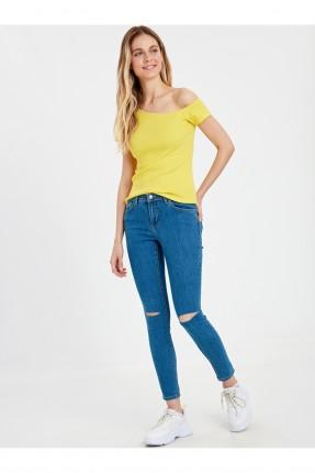 بنطال نسائي جينز ممزق