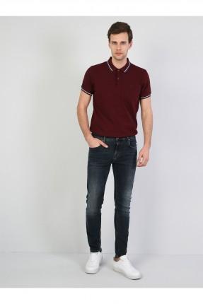 بنطال رجالي جينز سليم فيت