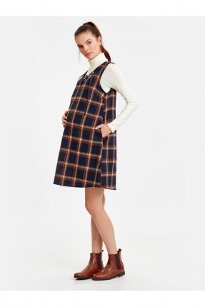فستان سبور حمل كاروهات قصير