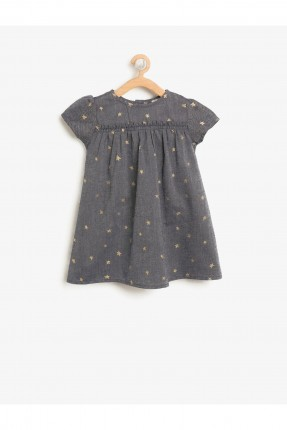 فستان بيبي بناتي بنقشة نجوم