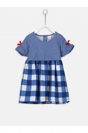 فستان بيبي بناتي كاروهات