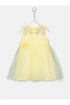 فستان بيبي بناتي بدانتيل