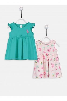 فستان بيبي بناتي بنقشة عدد 2