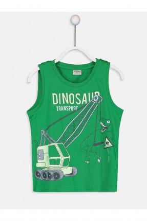 تيشرت حفر اطفال ولادي مع رسمة ديناصور