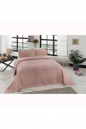 طقم غطاء سرير مزدوج مزخرف ورد