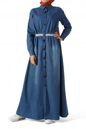 فستان سبور جينز طويل