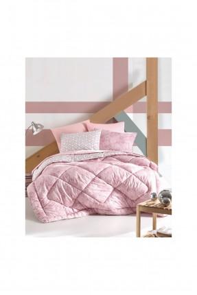 طقم لحاف سرير فردي مزخرف
