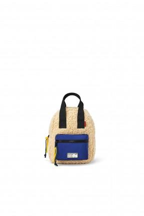 حقيبة ظهر مدرسية اطفال بناتي مزينة بالصوف