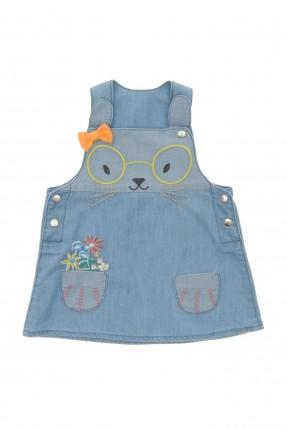 فستان بيبي بناتي بطبعة ارنب