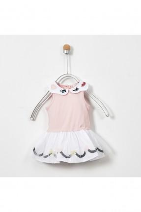 فستان بيبي بناتي بلونين