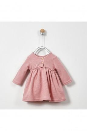 فستان بيبي بناتي بياقة ازرار