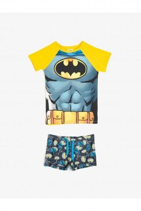 طقم سباحة اطفال ولادي زي باتمان