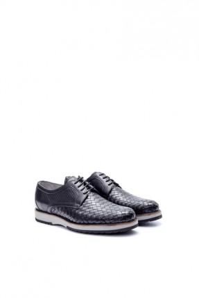 حذاء رجالي جلد بمودل احزمة