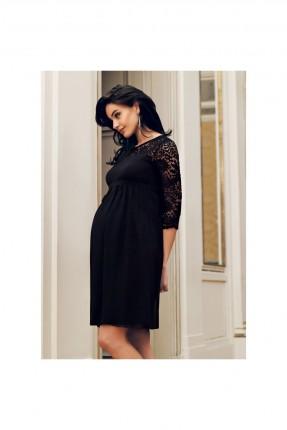 فستان رسمي حمل باكمام دانتيل