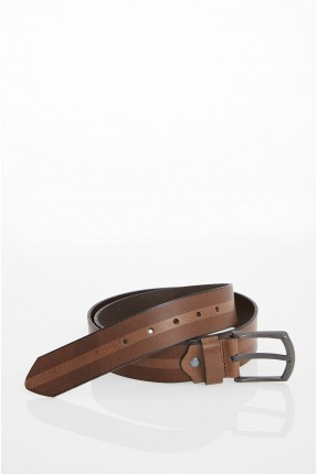 حزام رجالي جلد
