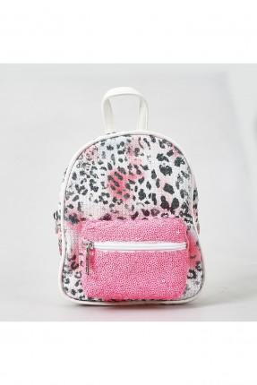 حقيبة ظهر اطفال بناتي شك مع سحاب امامي