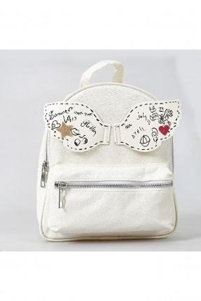 حقيبة ظهر اطفال بناتي مع سحاب امامي