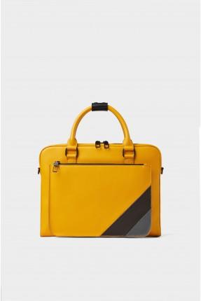 حقيبة يد رجالي ملونة من الجوانب