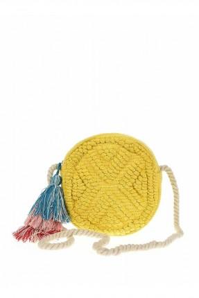 حقيبة يد نسائية دائرية