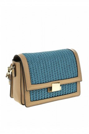 حقيبة يد نسائية مزينة بقش