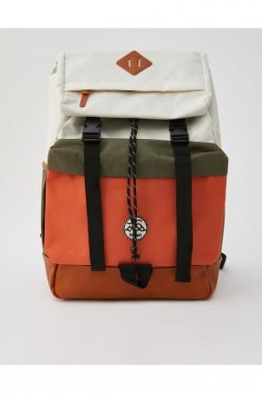 حقيبة ظهر رجالي ملونة