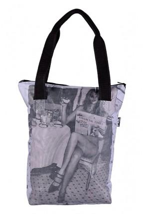 حقيبة يد نسائية بطبعة ايل ماكفيرسون