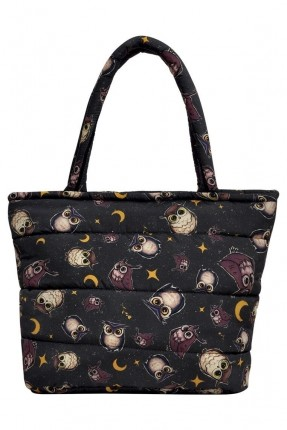 حقيبة يد نسائية بطبعة بومة