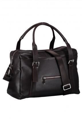 حقيبة يد رجالي بسحاب امامي