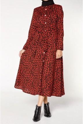 فستان سبور بطبعة تايغر