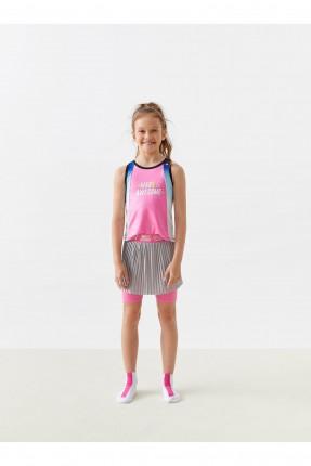 شورت اطفال بناتي رياضة موديل تنورة