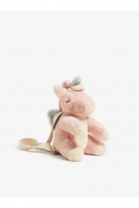 حقيبة ظهر اطفال بناتي شكل وحيد القرن