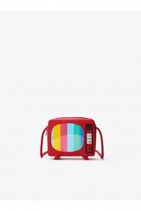 حقيبة يد اطفال بناتي شكل تلفاز