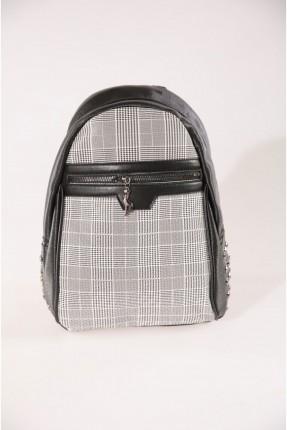 حقيبة ظهر نسائية كاروهات