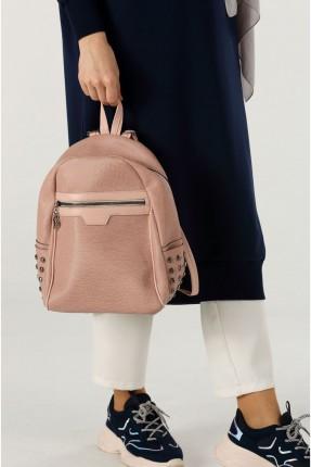 حقيبة ظهر نسائية بسحاب