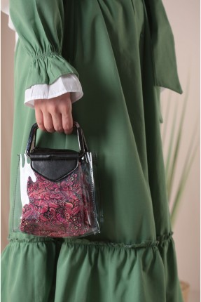 حقيبة يد نسائية شفاف