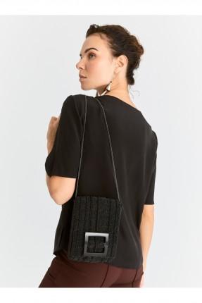 حقيبة يد نسائية مزينة بالخرز