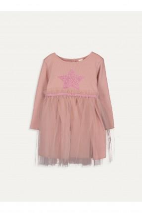 فستان بيبي بناتي برسمة نجوم