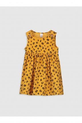 فستان بيبي بناتي منقش