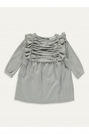 فستان بيبي بناتي بنقشة