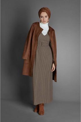 فستان سبور طويل كاروهات