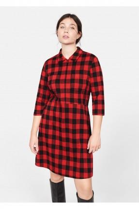 فستان سبور كاروهات قصير