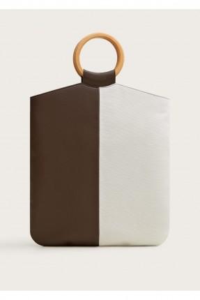حقيبة يد نسائية لونين