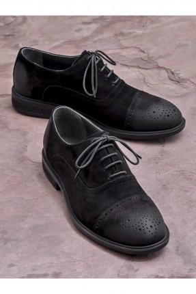 حذاء رجالي سبور منقط من الامام