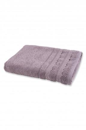منشفة حمام منقوشة ورد