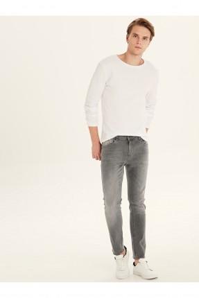 بنطال جينز رجالي بكحتة