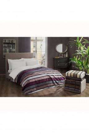 بطانية سرير فردي مخطط