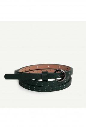 حزام نسائي مزين بثقوب